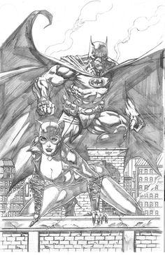 Batman & Catwoman by Jason Fabok