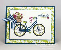Stampin Up - Bike Ride