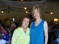 Photo courtesy of Cheryl Sanchez   Rena Wymore of Redding, left, and and Mary Bond, Whitmore attend the 35th annual Redding Emblem Club's Fashion Show and Luncheon on Saturday at the Redding Elks Lodge. See more Scene! photo page photos of North State people attending local public events at www.redding.com
