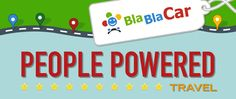 BlaBlaCar connects drivers with empty seats and people travelling the same way - 65 million trusted members saving up to on inter-city travel! Power To The People, Portugal, Adventure, City, Books, Travel, Statistics, Infographics, Ford