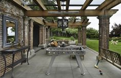 Outdoor living room offers something for every age