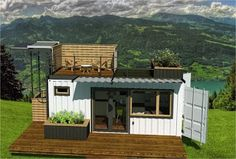 Tiny Home Made From Shipping Containers