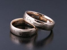 Rings by Bielak  Lords of the Ring  wedding bands