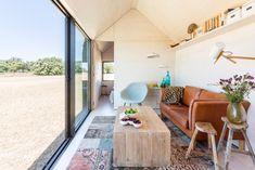 Wohnraum, ÁPH80 Portable House, Foto: Ábaton Arquitectura