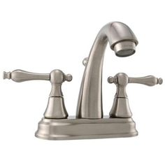 Maddox 4 in. 2-Handle High-Arc Bathroom Faucet in Brushed Nickel-I1306-ML-BN at The Home Depot