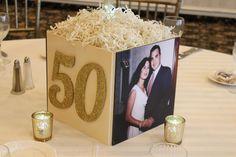 Photo Cube Centerpieces · Party & Event Decor · Balloon Artistry