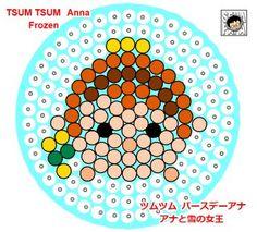 Frozen Tsum Tsum Perler Beads
