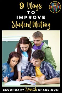 Looking for Spanish writing activities and ways to get your students engaged in Spanish writing projects? Check out 9 Ways to Improve Student Writing in Spanish. So many good tips! Spanish Teacher, Spanish Classroom, Teaching Spanish, Free Spanish Lessons, Spanish Lesson Plans, French Lessons, Spanish Activities, Writing Activities, Vocabulary Activities