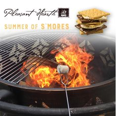 I'M SO HUNGRY FOR S'MORES & YOU SHOULD BE TOO!!!!! Enter for a chance to win The Pleasant Hearth - Summer of S'mores #Giveaway!!