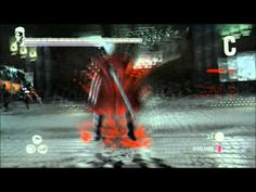dmc devil may cry combo mad2 - YouTube