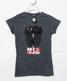 Mad Warrior T-Shirt - Womens / Charcoal / 10-12