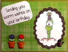 Created with Whipper Snapper Stamps  Worm Wishes and Party Worm  Made by Sheli