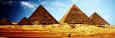 Egipto, Piramides de Giza