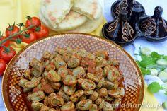 Bób po marokańsku (foul mcharmel) - SmakiMaroka.pl Vegan Food, Vegan Recipes, Bob, Ethnic Recipes, Veggie Food, Vegane Rezepte, Bob Cuts, Vegan Meals, Bob Sleigh