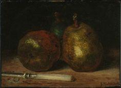 """Jean-François Millet """"Pears."""" Museum of Fine Arts, Boston."""