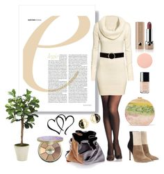 """""""84 - Everyday's nude sexyness"""" by londonxx ❤ liked on Polyvore featuring tarte, Alexander Wang, Gianvito Rossi, H&M, Edie Parker, Distinctive Designs, Marc Jacobs, Chanel and Smith & Cult"""