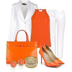 """""""Tangerine"""" by michellesolinas on Polyvore"""