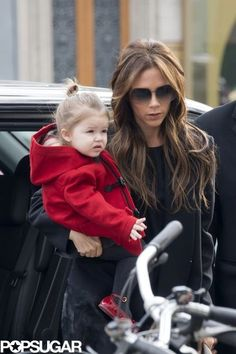 Victoria and Harper Beckham Begin to Explore Paris Together | See other pics