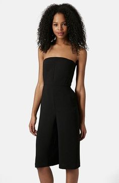 Topshop Culotte Jumpsuit available at #Nordstrom