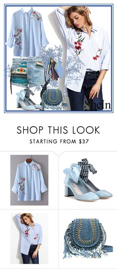 """""""Shein"""" by loveliest-back ❤ liked on Polyvore featuring Miu Miu"""