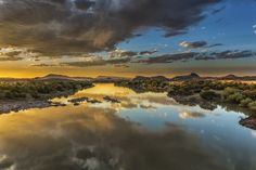 Orange River by Clive Wright on 500px