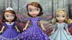 """Printable Doll Clothes Sofia the First 10"""" Doll Dress Tutorial"""