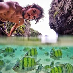 With @fedemaiz!  #fishes #goprooftheday