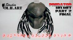 Predator Helmet part 2 final Шлем хищника часть 2 финал