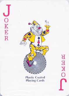 Joker on a Playing Card