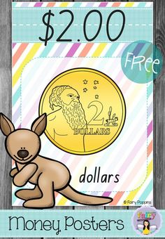 Free Australian Money Posters ~ Fairy Poppins