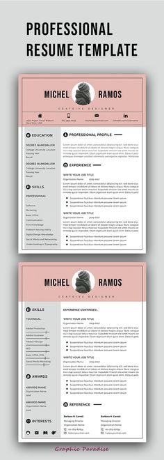 12 professional ms word resume template for best price, resume - word resume template mac