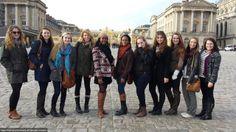 Women's Studies group in Versailles.