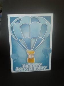 Balloon Card 3 Scan N Cut