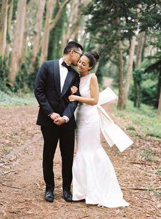 Olivia Couture wedding dress | Jose Villa Fine Art Photography