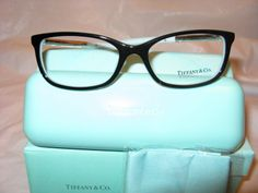Tiffany  Co. Eyeglasses are adorable.