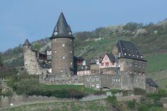 Stahleck Castle - 12th century - near Bacharach, Germany
