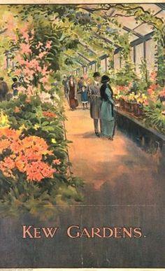 kew gardens travel posters - Google Search