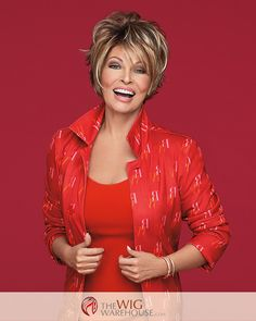 The Salon Cool wig by Raquel Welch is a fashion forward style that offers you a…