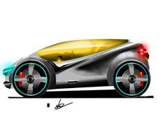 """My sketch """"future car"""""""