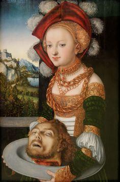 Lucas Cranach ルーカス・クラナッハ Salome サロメ