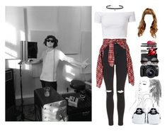 """""""Studio with Niall"""" by dreamofjess ❤ liked on Polyvore featuring Topshop, R13, Eos, Bobbi Brown Cosmetics, adidas, Kendra Scott, Carbon & Hyde and NiallHoran"""