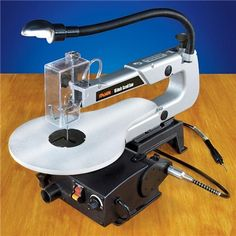 Micro-Mark 16 Inch Scroll Saw with Flexible Shaft Attachment