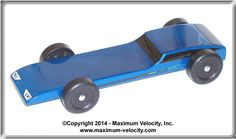 Jaguar Pinewood Derby Car Bundle Kit