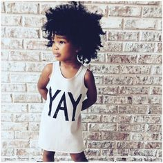 Black kids hairstyles: 7 of the Cutest Natural Hairstyles for Young Girls. Black Kids Hairstyles, Natural Hairstyles For Kids, Casual Hairstyles, Afro Hairstyles, American Hairstyles, Hairstyle Ideas, Beautiful Black Babies, Beautiful Children, Curly Hair Styles