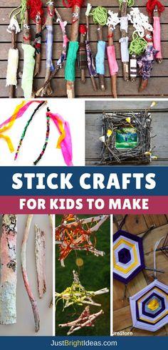Stick Crafts for Kids - Pinterest