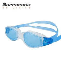 Barracuda AQUATEMPO Swim Goggle #12220 - Curved lenses for crystal clear wide visual field; Flexible one-piece soft frame with soft leak-proof seals: easy to wear and comfortable to fit a variety of faces
