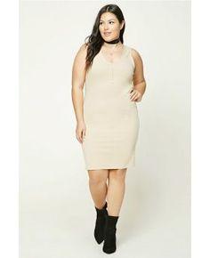Plus Size Vest Dress
