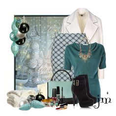 Winter Beauty by jenniemitchell on Polyvore featuring мода, STELLA McCARTNEY, Annie Greenabelle, J.Crew, Rimmel, OPI, Pier 1 Imports, Retrò, Chanel and Reed & Barton