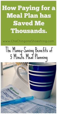 Meal planning got you down?  Find out how paying for a meal planning service has actually SAVED me thousands of dollars.  This is a MUST read if you suffer from meal planning stress!