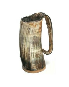 Love Game of Thrones? Viking? Or just a badass? Well we have a mug for you!    Each mug is hand made from humanely killed water buffalo , hand